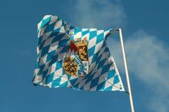 Bandierina della Baviera Immagine Stock Libera da Diritti