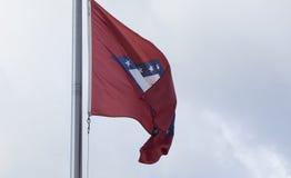 Bandierina della condizione dell'Arkansas Fotografia Stock