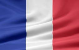 Bandierina della Francia Fotografie Stock