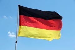 Bandierina della Germania Fotografie Stock Libere da Diritti