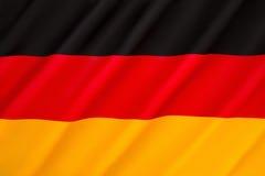 Bandierina della Germania Immagini Stock Libere da Diritti