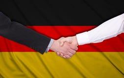 Bandierina della Germania Immagine Stock