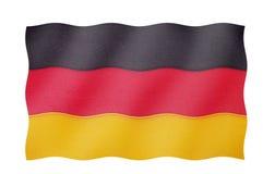 Bandierina della Germania Fotografia Stock