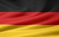 Bandierina della Germania Immagini Stock