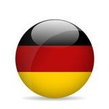 Bandierina della Germania Illustrazione di vettore Fotografia Stock Libera da Diritti