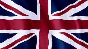 Bandierina della Gran Bretagna stock footage
