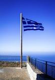 Bandierina della Grecia immagini stock