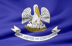 Bandierina della Luisiana Immagini Stock Libere da Diritti