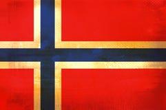 Bandierina della Norvegia illustrazione di stock