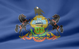 Bandierina della Pensilvania Immagini Stock Libere da Diritti