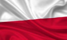 Bandierina della Polonia Fotografia Stock Libera da Diritti