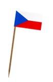 Bandierina della Repubblica ceca Immagini Stock Libere da Diritti