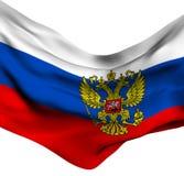 Bandierina della Russia Fotografia Stock
