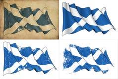 Bandierina della Scozia Fotografie Stock Libere da Diritti