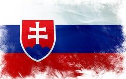 Bandierina della Slovacchia Fotografie Stock