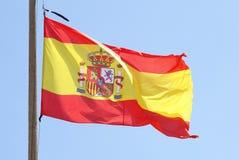 Bandierina della Spagna Immagine Stock Libera da Diritti