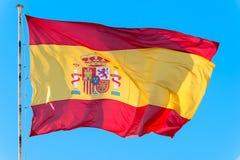Bandierina della Spagna Immagini Stock Libere da Diritti