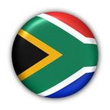 Bandierina della Sudafrica Fotografia Stock Libera da Diritti