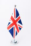 Bandierina della tabella del Regno Unito Immagine Stock Libera da Diritti