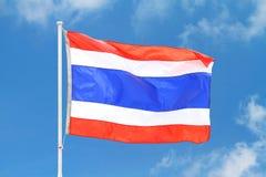 Bandierina della Tailandia Immagine Stock