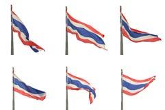 Bandierina della Tailandia Fotografia Stock Libera da Diritti