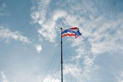 Bandierina della Tailandia immagini stock libere da diritti
