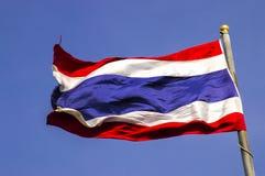 Bandierina della Tailandia Fotografie Stock Libere da Diritti