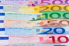 Bandierina delle banconote Fotografia Stock