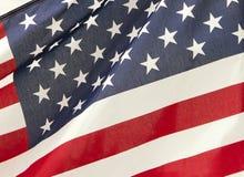 Bandierina delle stelle e delle bande degli Stati Uniti Immagine Stock Libera da Diritti