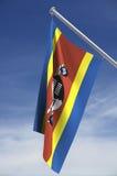 Bandierina dello Swaziland Immagini Stock Libere da Diritti
