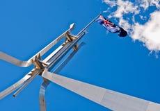 Bandierina di Ausralian alla Camera del Parlamento Fotografie Stock Libere da Diritti