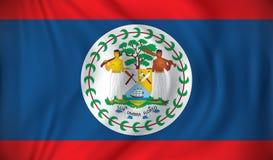 Bandierina di Belize Fotografia Stock Libera da Diritti
