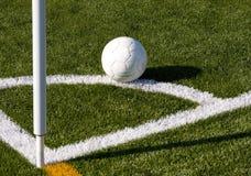 Bandierina di calcio fotografie stock libere da diritti