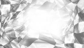 Bandierina di corsa Checkered fotografia stock libera da diritti