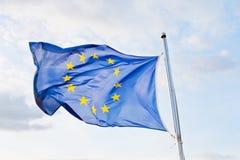 Bandierina di Europa Fotografia Stock Libera da Diritti