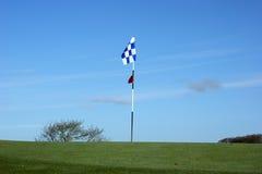 Bandierina di golf Immagine Stock Libera da Diritti