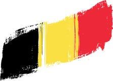 Bandierina di Grunge Belgio Immagine Stock Libera da Diritti