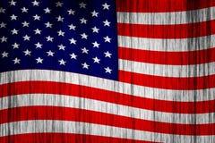 Bandierina di Grunge degli S.U.A. Immagine Stock Libera da Diritti