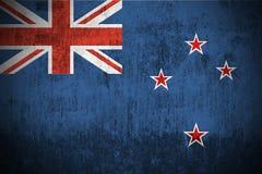 Bandierina di Grunge della Nuova Zelanda Fotografia Stock Libera da Diritti