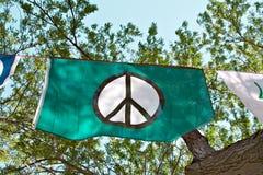 Bandierina di pace immagini stock libere da diritti