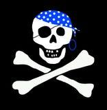 Bandierina di pirata Fotografia Stock Libera da Diritti