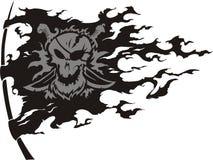 Bandierina di pirateria Immagini Stock Libere da Diritti