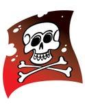 Bandierina di pirati Fotografia Stock