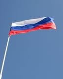 Bandierina di sbattimento della Russia Immagine Stock