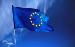 Bandierina di Unione Europea Fotografie Stock