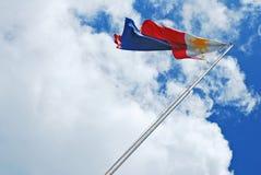 Bandierina filippina Immagini Stock Libere da Diritti