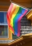 Bandierina gaia di orgoglio immagini stock libere da diritti