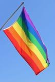 Bandierina gaia di orgoglio fotografia stock libera da diritti
