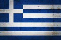 Bandierina greca Fotografia Stock Libera da Diritti