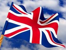 Bandierina. Il Regno Unito fotografie stock